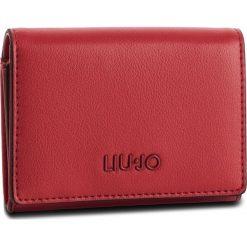Mały Portfel Damski LIU JO - Credit Card Case A19163 E0040 Chili Pepper 91761. Czerwone portfele damskie Liu Jo, ze skóry ekologicznej. Za 199.00 zł.