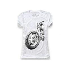 Koszulka UNDERWORLD Ring spun cotton Motor. Białe t-shirty damskie Underworld, z nadrukiem, z bawełny. Za 59.99 zł.