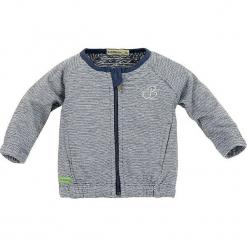 """Kurtka """"Hello Baby"""" w kolorze niebieskim. Niebieskie kurtki i płaszcze dla chłopców Bondi, w paski. W wyprzedaży za 49.95 zł."""