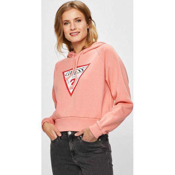 18a029c150bae Guess Jeans - Bluza - Bluzy damskie marki Guess Jeans. Za 329.90 zł ...