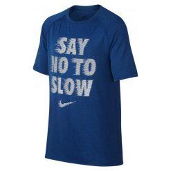 Nike Koszulka B Nk Dry Tee Leg Rag Say No L. T-shirty dla chłopców marki Nike. W wyprzedaży za 69.00 zł.