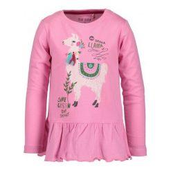 Blue Seven Dziecięca Koszulka Z Lamą, 92, Różowa. Czerwone bluzki dla dziewczynek Blue Seven, z nadrukiem, z falbankami. Za 39.00 zł.