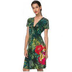 Desigual Sukienka Damska Maroni Xs Zielony. Zielone sukienki damskie Desigual. W wyprzedaży za 211.00 zł.