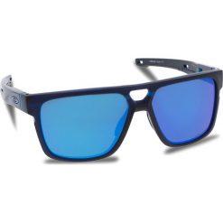 Okulary przeciwsłoneczne OAKLEY - Crossrange Patch OO9382-0360 Matte Translucent Blue/Prizm Sapphire Iridium. Niebieskie okulary przeciwsłoneczne męskie Oakley, z tworzywa sztucznego. W wyprzedaży za 579.00 zł.