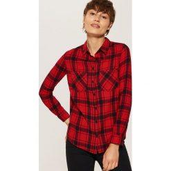 Koszula w kratę - Czarny. Czarne koszule damskie House. Za 39.99 zł.