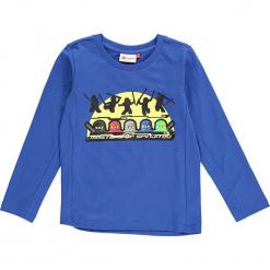 """Koszulka """"Thomas 716"""" w kolorze niebieskim. Zielone t-shirty dla chłopców marki Lego Wear Fashion, z bawełny, z długim rękawem. W wyprzedaży za 59.95 zł."""