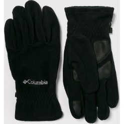 Columbia - Rękawiczki. Czarne rękawiczki męskie Columbia, z dzianiny. Za 119.90 zł.