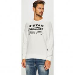 G-Star Raw - Bluza. Szare bluzy męskie G-Star Raw, z nadrukiem, z bawełny. Za 329.90 zł.