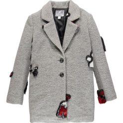 Mek - Płaszcz dziecięcy 128-170 cm. Szare kurtki i płaszcze dla dziewczynek Mek, z acetatu. Za 429.90 zł.