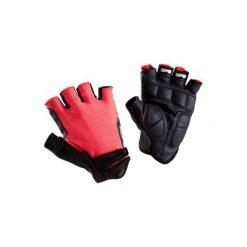 Rękawiczki ROADC 900. Czerwone rękawiczki męskie B'TWIN. Za 49.99 zł.