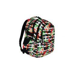 Plecak młodzieżowy St.Right Tropical Stripes. Szara torby i plecaki dziecięce St-Majewski, z materiału. Za 114.99 zł.