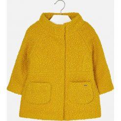 Mayoral - Płaszcz dziecięcy 92-134 cm. Pomarańczowe kurtki i płaszcze dla dziewczynek Mayoral, z materiału. Za 229.90 zł.