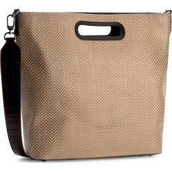 Torebka TWINSET - Shopping AS7TZ2  Duna 00850. Brązowe torebki do ręki damskie Twinset, ze skóry ekologicznej. W wyprzedaży za 379.00 zł.