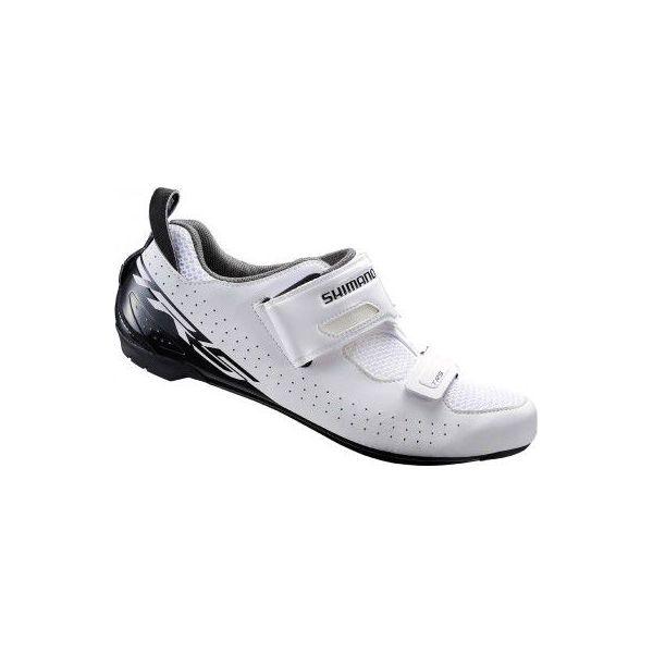 Buty na rower TRI TR5 białe Shimano Buty sportowe męskie