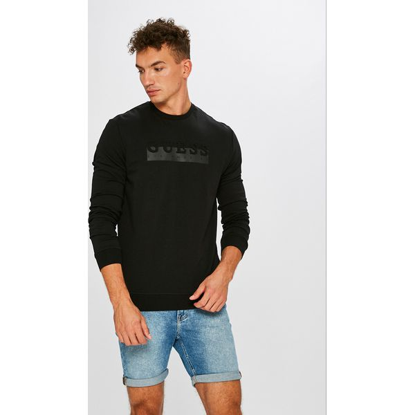 3e13910c81bc1 Guess Jeans - Bluza - Bluzy męskie marki Guess Jeans. W wyprzedaży za  259.90 zł. - Bluzy męskie - Odzież męska - Dla mężczyzn - Chillizet.pl
