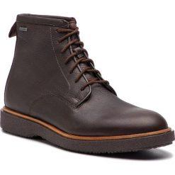 Kozaki CLARKS - Modur Hi Gtx GORE-TEX 261355597 Dark Brown Leather. Brązowe kozaki męskie Clarks, z gore-texu. W wyprzedaży za 469.00 zł.
