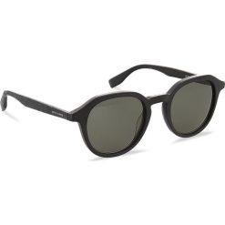 Okulary przeciwsłoneczne BOSS - 0321/S MtBlack Wood 2W7. Czarne okulary przeciwsłoneczne męskie Boss, z tworzywa sztucznego. W wyprzedaży za 399.00 zł.