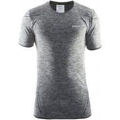 Craft Koszulka Męska Active Comfort Ss Szara/Czarna S. Czarne koszulki sportowe męskie Craft, z krótkim rękawem. W wyprzedaży za 99.00 zł.