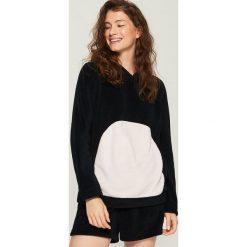 Piżama z uszami - Czarny. Piżamy damskie marki bonprix. W wyprzedaży za 39.99 zł.