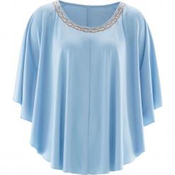 Tunika shirtowa bonprix lodowy niebieski. Tuniki damskie marki bonprix. Za 37.99 zł.