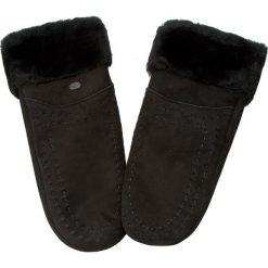 Rękawiczki Damskie EMU AUSTRALIA - Otway Mittens Black. Czarne rękawiczki damskie Emu Australia, z materiału. Za 419.00 zł.