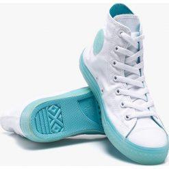 Converse - Trampki dziecięce. Trampki i tenisówki dziewczęce Converse, z gumy. W wyprzedaży za 179.90 zł.