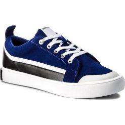 Trampki CALVIN KLEIN JEANS - Dino S1760 Ocean/White/Black. Niebieskie trampki męskie Calvin Klein Jeans, z gumy. W wyprzedaży za 459.00 zł.