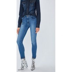 Levi's - Jeansy 721. Brązowe jeansy damskie Levi's. Za 399.90 zł.