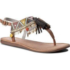 Japonki GIOSEPPO - 40516 Tan. Sandały damskie Gioseppo, ze skóry. W wyprzedaży za 139.00 zł.
