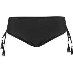 Figi bikini wyszczuplające bonprix czarny. Czarne bielizna wyszczuplająca bonprix, w paski. Za 59.99 zł.
