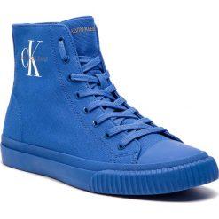 Trampki CALVIN KLEIN JEANS - Icaro S0594 Nautical Blue. Niebieskie trampki męskie Calvin Klein Jeans, z gumy. Za 519.00 zł.