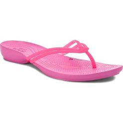 Japonki CROCS - Isabella Flip W 204004  Vibrant Pink/Party Pink. Czerwone klapki damskie Crocs, z tworzywa sztucznego. W wyprzedaży za 119.00 zł.