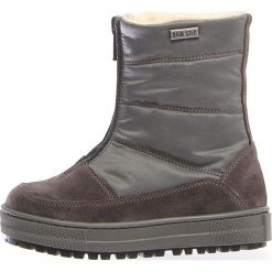 """Kozaki zimowe """"Devo"""" w kolorze antracytowym. Buty zimowe dziewczęce Zimowe obuwie dla dzieci. W wyprzedaży za 257.95 zł."""