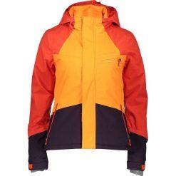 """Kurtka narciarska """"Fairbanks"""" w kolorze żółto-fioletowo-pomarańczowym. Brązowe kurtki damskie Protest, z materiału. W wyprzedaży za 474.95 zł."""