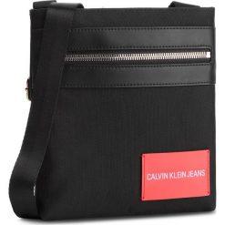 Saszetka CALVIN KLEIN JEANS - Sp Essential + Micro Flat Pack K40K400801 001. Czarne saszetki męskie Calvin Klein Jeans, z jeansu, młodzieżowe. Za 279.00 zł.