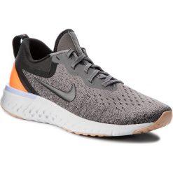 Buty NIKE - Odyssey React AO9820 004 Gunsmoke/Black/Twilight Pulse. Szare obuwie sportowe damskie Nike, z materiału. W wyprzedaży za 399.00 zł.
