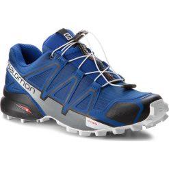 Buty SALOMON - Speedcross 4 404641 27 V0 Mazarine Blue Wil/Black/White. Niebieskie buty sportowe męskie Salomon, z materiału. W wyprzedaży za 389.00 zł.