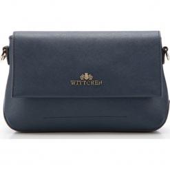 Torebka damska 85-4E-443-7. Niebieskie torebki do ręki damskie Wittchen, w paski. Za 349.00 zł.
