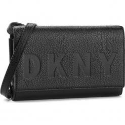 Torebka DKNY - Commuter Wallet On A String R835A670 Warm Grey WG5. Szare listonoszki damskie DKNY, ze skóry. Za 549.00 zł.