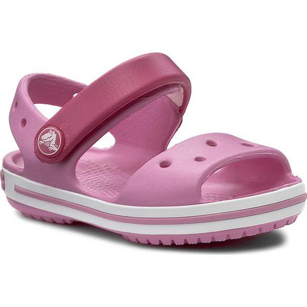 na stopach zdjęcia klasyczny styl 2018 buty Sandały CROCS - Crocband Sandal Kids 12856 Candy Pink/Party Pink