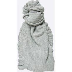 Vero Moda - Szal. Szare szaliki i chusty damskie Vero Moda, z dzianiny. W wyprzedaży za 39.90 zł.