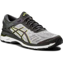 Buty ASICS - Gel-Kayano 24 Lite-Show T8A4N Mid Grey/Dark Grey/Safety Yellow 9695. Szare buty sportowe męskie Asics, z materiału. W wyprzedaży za 519.00 zł.
