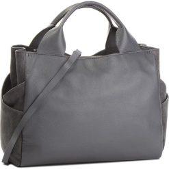 Torebka CLARKS - Talara Star 261382010  Grey Lea. Szare torebki do ręki damskie Clarks, ze skóry. Za 669.00 zł.