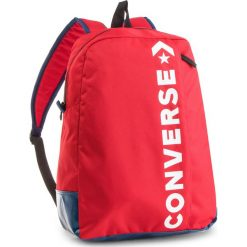 Plecak CONVERSE - 10008286-A02 603. Czerwone plecaki damskie Converse, z materiału, sportowe. W wyprzedaży za 119.00 zł.