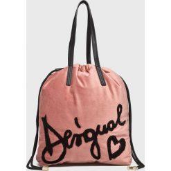 Desigual - Torebka. Szare torby na ramię damskie Desigual. Za 299.90 zł.