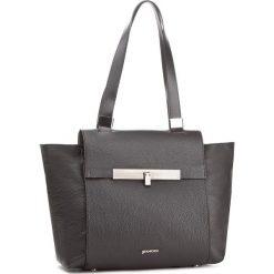 Torebka GINO ROSSI - Busy XD3629-ELB-BGTK-9999-T 99/99. Czarne torebki do ręki damskie Gino Rossi, ze skóry. W wyprzedaży za 399.00 zł.