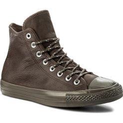 Trampki CONVERSE - Ctas Hi 157513C Dark Chocolate/Dark Chocolate. Brązowe trampki męskie Converse, z gumy. W wyprzedaży za 269.00 zł.