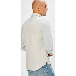 Pepe Jeans - Koszula. Szare koszule męskie Pepe Jeans, w paski, z bawełny, z klasycznym kołnierzykiem, z długim rękawem. W wyprzedaży za 229.90 zł.