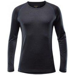 Devold Koszulka Termiczna Breeze Man Shirt Black M. Czarne koszulki sportowe męskie Devold, z wełny, z długim rękawem. W wyprzedaży za 229.00 zł.