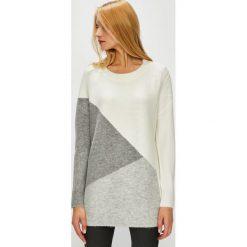 Medicine - Sweter Hand Made. Szare swetry damskie MEDICINE, z dzianiny, z okrągłym kołnierzem. Za 139.90 zł.
